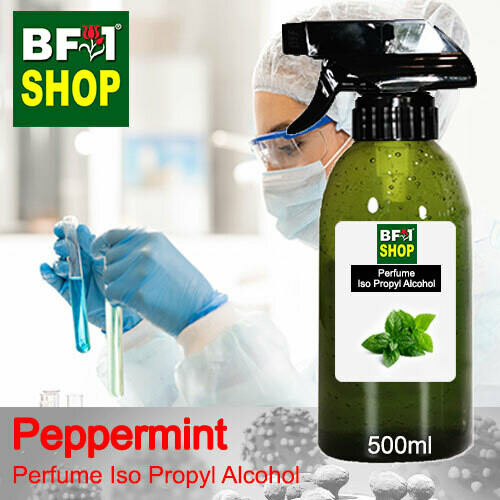 Perfume Alcohol - Iso Propyl Alcohol 75% with mint - Peppermint - 500ml