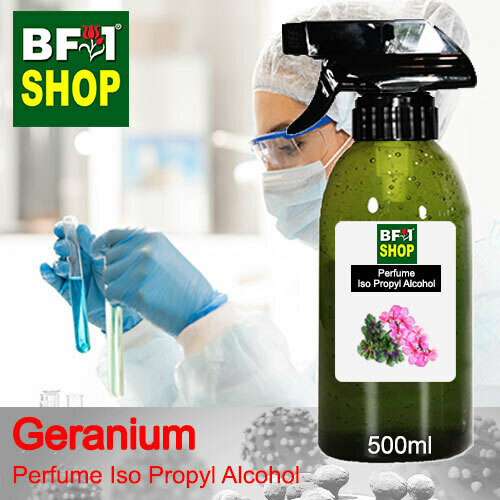 Perfume Alcohol - Iso Propyl Alcohol 75% with Geranium - 500ml