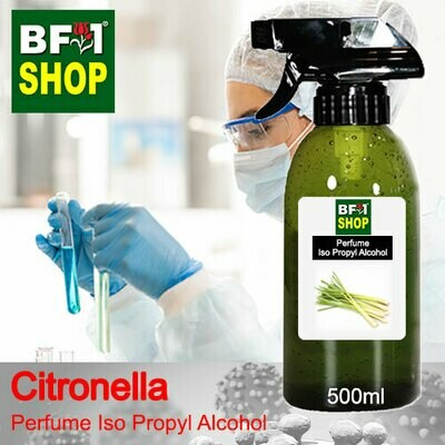 Perfume Alcohol - Iso Propyl Alcohol 75% with Citronella - 500ml