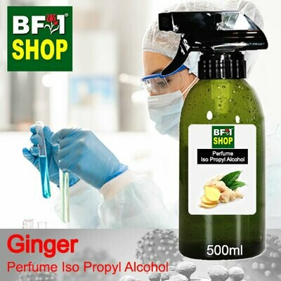 Perfume Alcohol - Iso Propyl Alcohol 75% with Ginger - 500ml