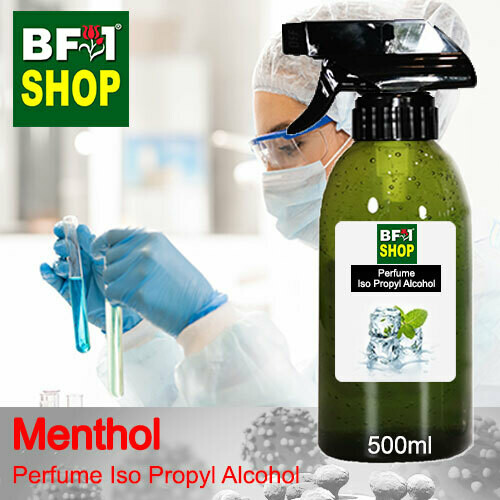 Perfume Alcohol - Iso Propyl Alcohol 75% with Menthol - 500ml