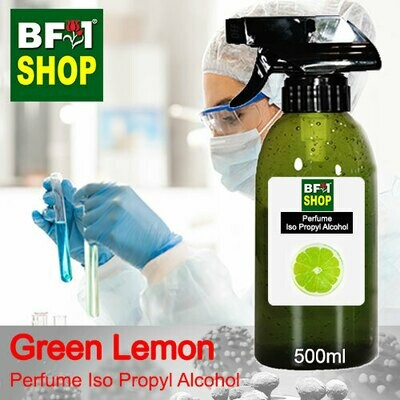 Perfume Alcohol - Iso Propyl Alcohol 75% with Lemon - Green Lemon - 500ml