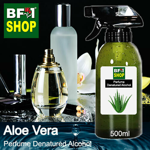 Perfume Alcohol - Denatured Alcohol 75% with Aloe Vera - 500ml