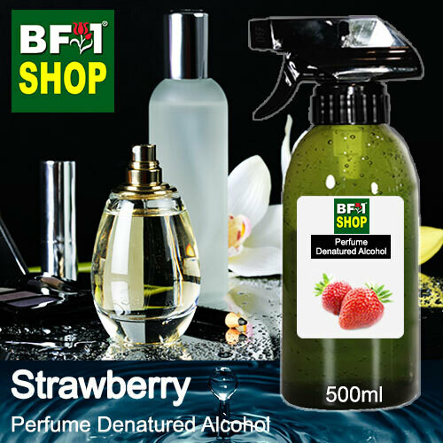 Perfume Alcohol - Denatured Alcohol 75% with Strawberry - 500ml