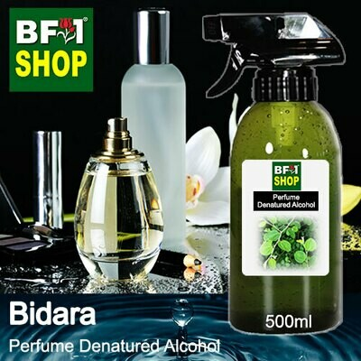 Perfume Alcohol - Denatured Alcohol 75% with Bidara - 500ml