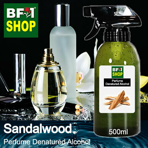 Perfume Alcohol - Denatured Alcohol 75% with Sandalwood - 500ml