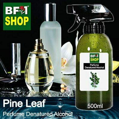 Perfume Alcohol - Denatured Alcohol 75% with Pine Leaf - 500ml