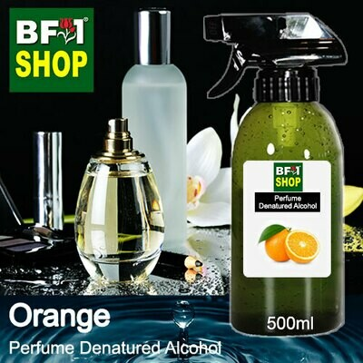 Perfume Alcohol - Denatured Alcohol 75% with Orange - 500ml