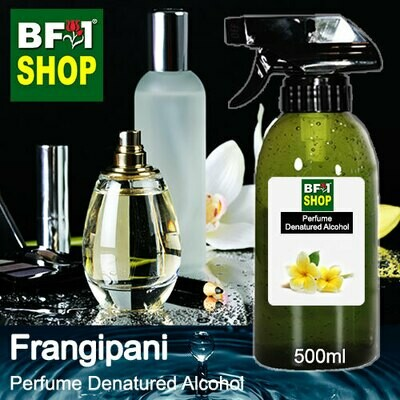 Perfume Alcohol - Denatured Alcohol 75% with Frangipani - 500ml