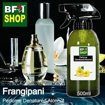 Perfume Alcohol - Denatured Alcohol 75% with Frangipani - 500ml