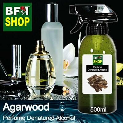 Perfume Alcohol - Denatured Alcohol 75% with Agarwood - 500ml