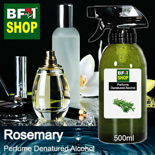 Perfume Alcohol - Denatured Alcohol 75% with Rosemary - 500ml
