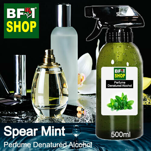 Perfume Alcohol - Denatured Alcohol 75% with mint - Spear Mint - 500ml