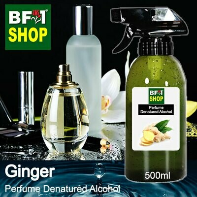 Perfume Alcohol - Denatured Alcohol 75% with Ginger - 500ml