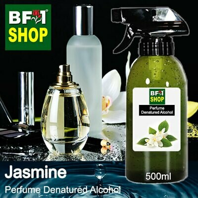 Perfume Alcohol - Denatured Alcohol 75% with Jasmine - 500ml