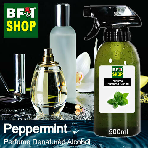 Perfume Alcohol - Denatured Alcohol 75% with mint - Peppermint - 500ml