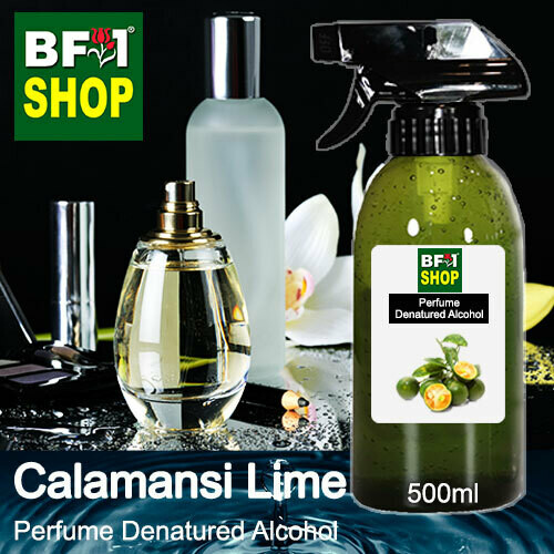 Perfume Alcohol - Denatured Alcohol 75% with lime - Calamansi Lime - 500ml