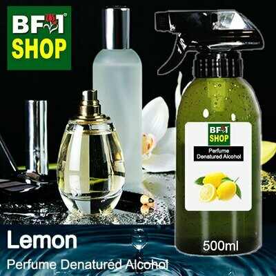 Perfume Alcohol - Denatured Alcohol 75% with Lemon - 500ml