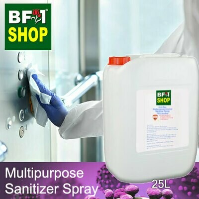 Anti-Bac Multipurpose Alcohol Sanitizer Spray ( 75% IPA Alcohol ) - 25L