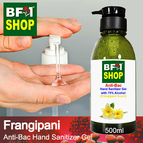 Anti-Bac Hand Sanitizer Gel with 75% Alcohol (ABHSG) - Frangipani - 500ml