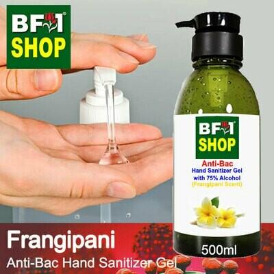 Anti-Bac Hand Sanitizer Gel with 75% Alcohol (ABHSG) - Frangipani - 500ml