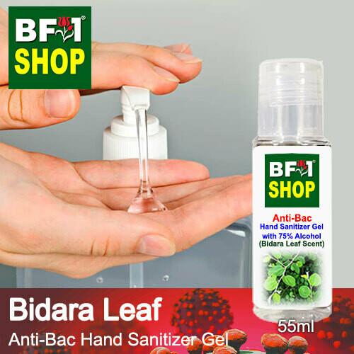 Anti-Bac Hand Sanitizer Gel with 75% Alcohol (ABHSG) - Bidara Leaf - 55ml