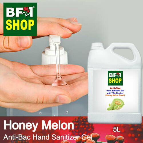 Anti-Bac Hand Sanitizer Gel with 75% Alcohol (ABHSG) - Honey Melon - 5L