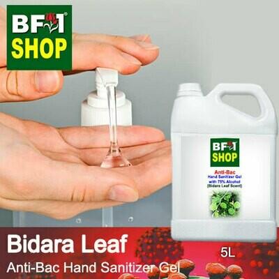 Anti-Bac Hand Sanitizer Gel with 75% Alcohol (ABHSG) - Bidara Leaf - 5L