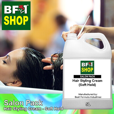 Salon Pack - Hair Styling Cream - Soft Hold - 5L