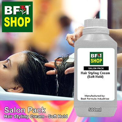 Salon Pack - Hair Styling Cream - Soft Hold - 500ml
