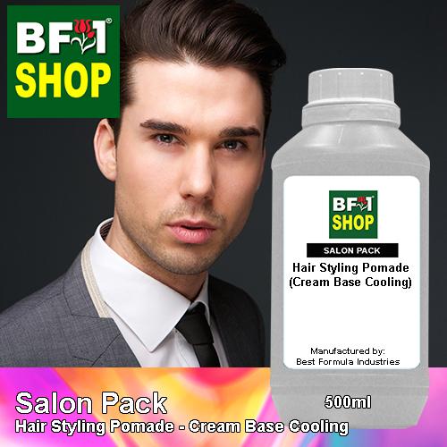 Salon Pack - Hair Styling Pomade - Cream Base Cooling - 500ml