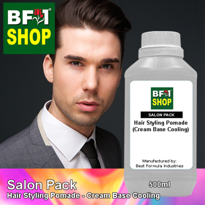 Salon Pack - Hair Styling Pomade - Cream Base Cooling - 500ml