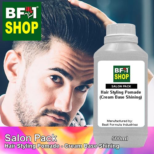 Salon Pack - Hair Styling Pomade - Cream Base Shining - 500ml