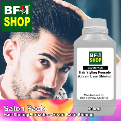 Salon Pack - Hair Styling Pomade - Cream Base Shining - 500ml
