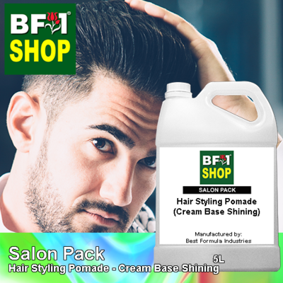 Salon Pack - Hair Styling Pomade - Cream Base Shining - 5L