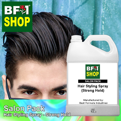Salon Pack - Hair Styling Spray - Strong Hold - 5L