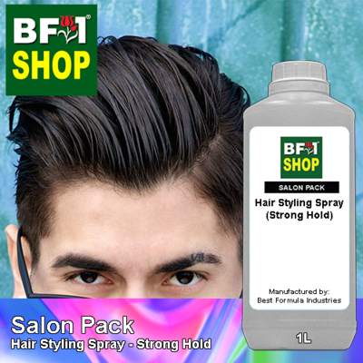 Salon Pack - Hair Styling Spray - Strong Hold - 1L