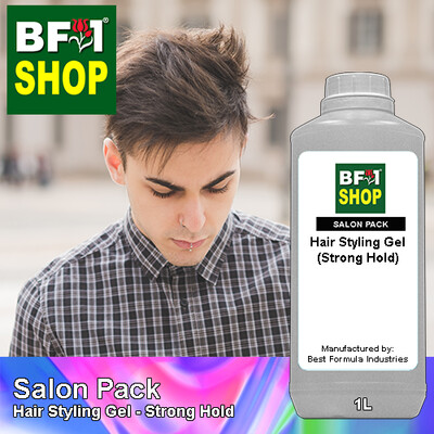 Salon Pack - Hair Styling Gel - Strong Hold - 1L