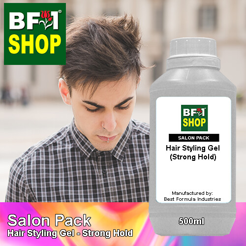 Salon Pack - Hair Styling Gel - Strong Hold - 500ml