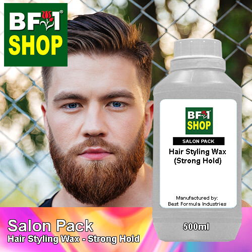 Salon Pack - Hair Styling Wax - Strong Hold - 500ml
