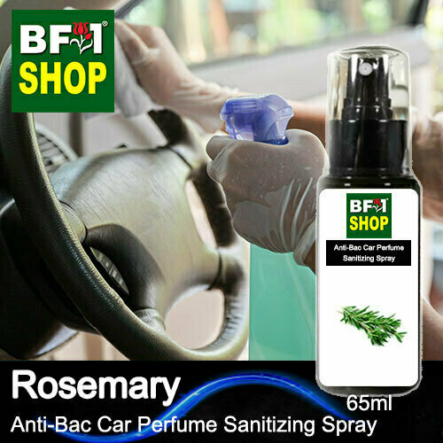 Anti-Bac Car Perfume Sanitizing Spray (ABCP) - Rosemary - 65ml