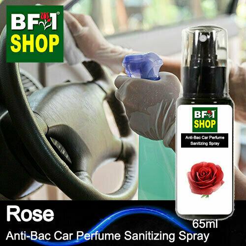 Anti-Bac Car Perfume Sanitizing Spray (ABCP) - Rose - 65ml