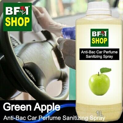 Anti-Bac Car Perfume Sanitizing Spray (ABCP) - Apple - Green Apple - 1L