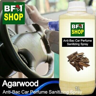 Anti-Bac Car Perfume Sanitizing Spray (ABCP) - Agarwood - 1L
