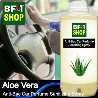 Anti-Bac Car Perfume Sanitizing Spray (ABCP) - Aloe Vera - 1L