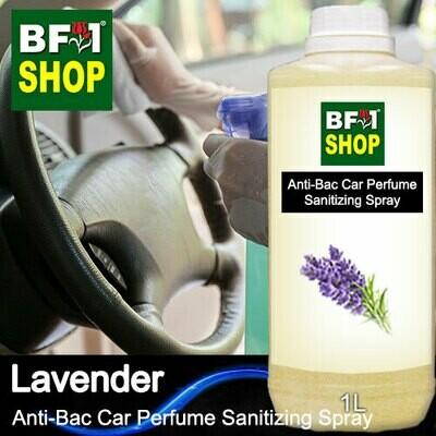 Anti-Bac Car Perfume Sanitizing Spray (ABCP) - Lavender - 1L