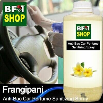 Anti-Bac Car Perfume Sanitizing Spray (ABCP) - Frangipani - 1L