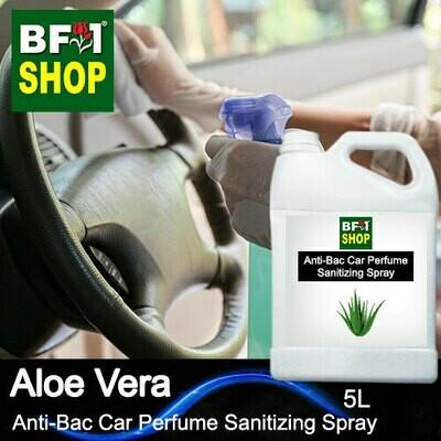Anti-Bac Car Perfume Sanitizing Spray (ABCP) - Aloe Vera - 5L