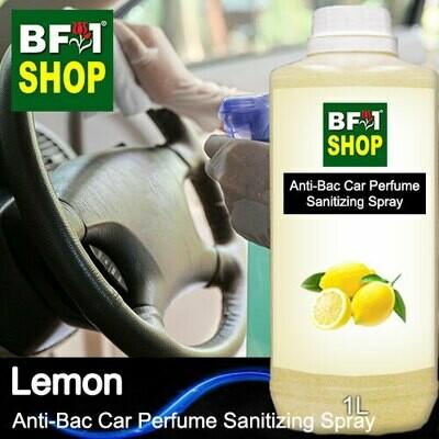 Anti-Bac Car Perfume Sanitizing Spray (ABCP) - Lemon - 1L