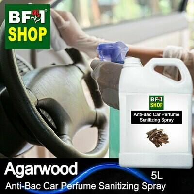Anti-Bac Car Perfume Sanitizing Spray (ABCP) - Agarwood - 5L